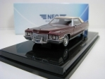 Cadillac Coupe deVille 1972 Dark Red 1:64 Neo Models
